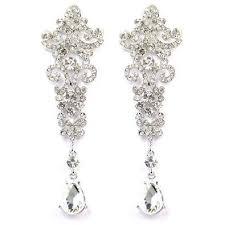Long Chandelier Earrings Dangle Earrings Cheap Silver Crystal Chandelier Earrings Find Silver Crystal