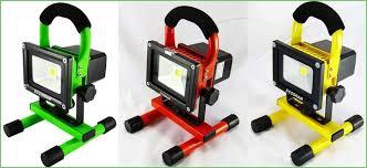 10w rechargeable flood light lighting led rechargeable flood light ebay rechargeable portable