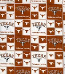 Texas Longhorns Home Decor University Of Texas Ncaa Cotton Fabric Joann