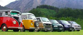 green volkswagen van history of the vw campervan and vw transporter