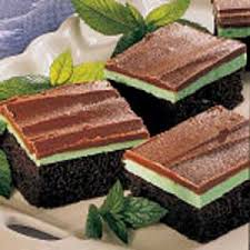 mint chocolate cake recipe taste of home