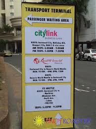 Map Of Resorts World Manila by Pinoy Roadtrip Citylink Eastwood New Routes And Schedule
