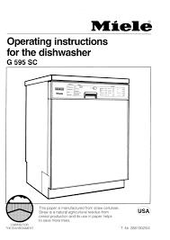 28 miele dishwasher g522 manual miele g 693 4 sci plus