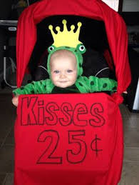Frog Halloween Costume Infant Frog Prince Kissing Booth Stroller Costume Baby Stuff