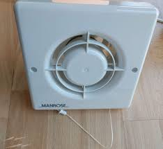 xf100p manrose 100mm bathroom extractor fan with pull cord