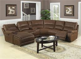 Sectional Sofas With Recliner by Living Room Ricardo Leather Reclining Sectional Sofa Piece Power