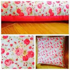 Shabby Chic Cushions by Large Floor Teepee Shabby Chic Cushion Cover 80x80cm Pink And