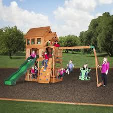 wooden swing sets swingsetmall com