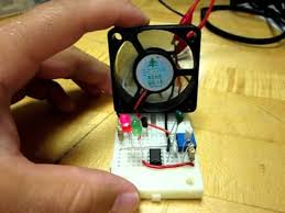 temperature activated light switch temperature controlled fan circuit avi youtube