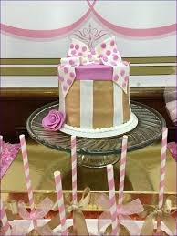 bathroom fabulous baby shower decorations ideas pink and gold