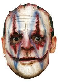 killer clown mask serial killer clown mask