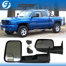 towing mirrors for dodge ram 3500 fit 94 01 dodge ram 1500 94 02 2500 3500 towing mirrors with