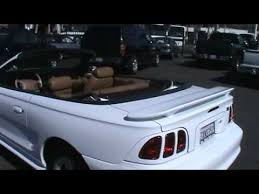 1998 convertible mustang 1998 ford mustang gt convertible 2d 1owner exceptional service