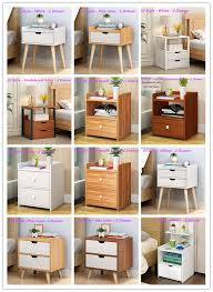 cabinet sle colors modern style bedside table nightstand home bedroom storage cabinet drawer us