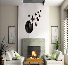 decorative wall clocks for living room wall art design