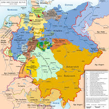 map of regions of germany list of historic states of germany