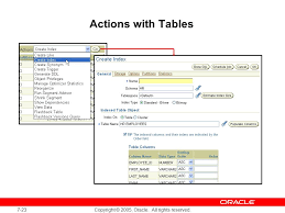 Change Table Name Oracle Managing Schema Objects Ppt