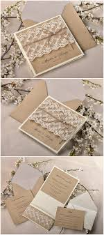 shabby chic wedding invitations top 10 rustic wedding invitations to wow your guests