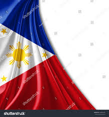 Philippines Flag Royalty Free Philippines Flag And White Background 249852406
