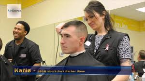 us army barber shop at joint base lewis mcchord youtube