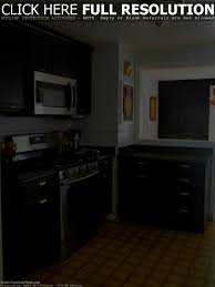 apartments cute gray kitchen walls dark cabinets outofhome