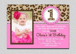 template printable 1st birthday invitation cards in english with