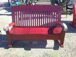 Solid Wood Patio Furniture by 19 Best Patio Furniture Images On Pinterest Benches Rockers And