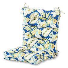 High Back Patio Chair Cushions Amazon Com Greendale Home Fashions Indoor Outdoor High Back