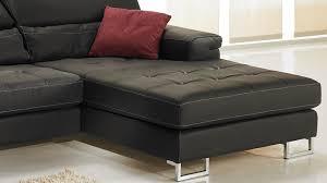 canap d angle cuir noir canapé d angle droit cuir noir canapé angle pas cher