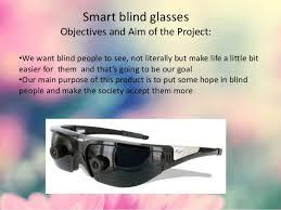 Sunglasses For Blind People Smart Sensors Smart Blind Glasses Idm9