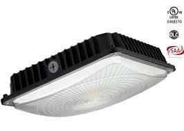 led gas station canopy lights manufacturers 5000k 5600lm 45w 70w slim gas station canopy led light fixture