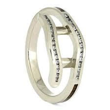 white gold bridal sets koa wood bridal set three engagement ring white gold