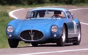maserati pininfarina vintage maserati a6gcs pinin farina berlinetta 1954 chassis 2070 only