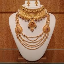 wedding jewellery sets gold gold light weight hyderabad bridal jewellery hyderabad bridal