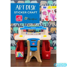 step 2 deluxe art desk парта для творчества step2 deluxe art master desk купить в киеве и