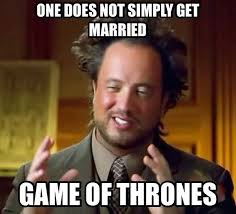 Purple Wedding Meme - game of thrones season 4 episode 2 the lion and the rose what are