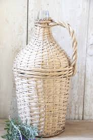 Country Wine Basket 428 Best Demijohn Images On Pinterest Glass Wine Bottles And