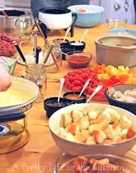 Fabulous Dinner Ideas Fabulous Fondue Fun A Pretty Life In The Suburbs