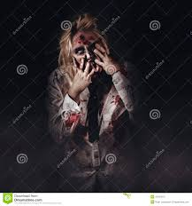dark halloween background dark halloween portrait scary evil zombie stock photo image