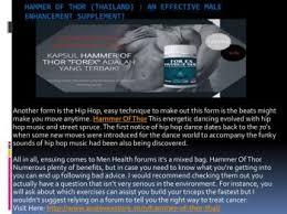 hammer of thor thailand get maximum sexual benefits