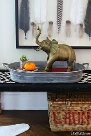thrift store score vintage brass elephant kelly elko