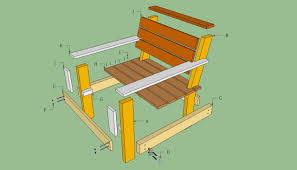 wood slat chair plans home chair decoration