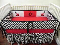 Custom Boy Crib Bedding Baby Bedding Crib Set Ashton Gray Chevron Just Baby