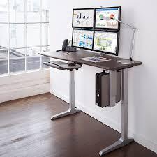 Standing Desk For Gaming Desk Inspiring Computer Desk For Monitors Ideas