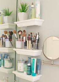 Bathroom Mirror With Shelves 35 Floating Shelves Ideas For Different Rooms Digsdigs