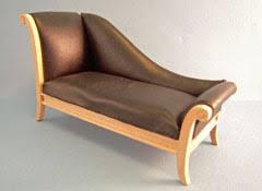 Art Deco Chaise Dollhouse Chaise Lounge Chairs 1 12 U0026 1 24 Scale