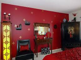 Red Bedroom Paint MonclerFactoryOutletscom - Paint designs for bedroom