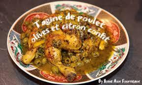 cuisine choumicha poulet tagine au poulet aux olives vertes et citron confit