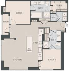 bath floor plans houston high rise apartments floor plans at the southmore