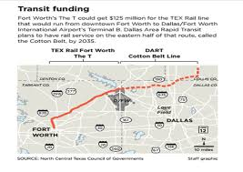 Dart Map Dallas by Dart U0027s Cotton Belt Line May Be Sooner Than Later Going Through